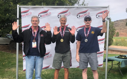 Rob Bernhard – Winner at Huntsman World Senior Games!