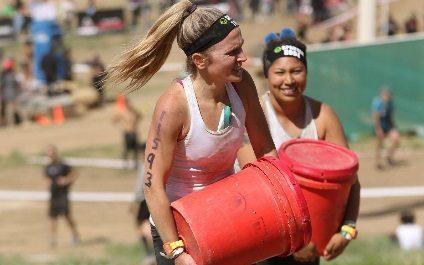 Brittany Kocis in Spartan Beast Race!