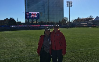 Dr. Look and Dr. Myers – Docs for Women's Rugby!